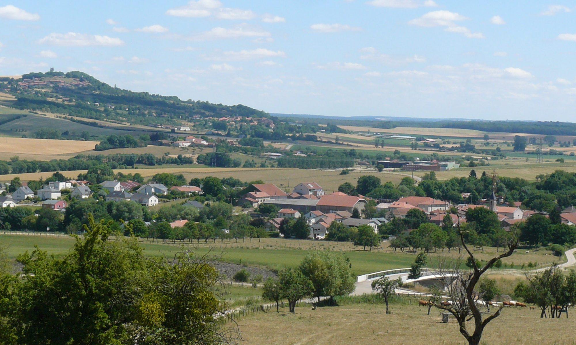 Commune d' AGINCOURT (54770)